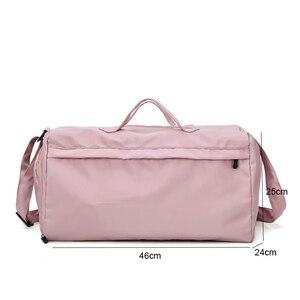 Image 2 - Grand sac étanche à la mode pour entraînements sportifs en plein air, sac à main étanche pour gymnastique, sac de Fitness pour voyage, Yoga pour hommes