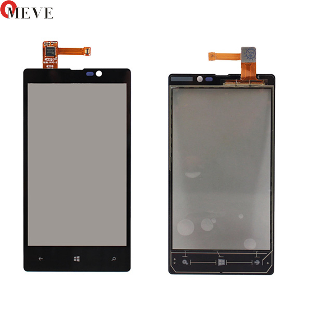 Touch Screen Digitizer For Nokia Lumia 820 N820 Front Touch Glass For Nokia 820 Touch Panel Sensor Panel Phone Replacement Test