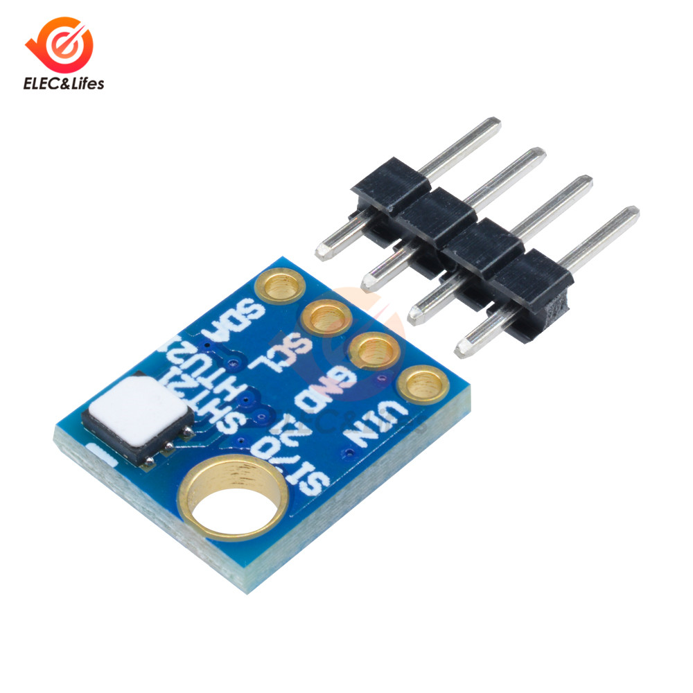 Mini Humidity Sensor With I2C IIC Interface GY-21-Si7021 Industrial High Precision Temperature Sensor Module Low Power CMOS IC