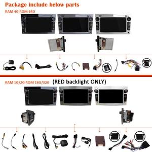 Image 5 - Araba radyo 2 Din Android 10 DVD GPS autoradio ses Opel Astra H için G J Antara corsa vectra Vivaro astra H zafira b için 2din stereo