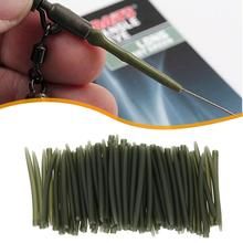 53mm TPR Terminal Anti Tangle Sleeves Connect with Fishing Hooks Carp Fishing Tackle Boxes Pesca Iscas Tools 20pcs 30pcs 40pcs cheap JOCESTYLE CN(Origin) Rubber Sleeves Ocean Boat Fishing peche a la carpe fishing box karpervissen Terminal Carp Fishing rubber Anti Tangle Sleeves
