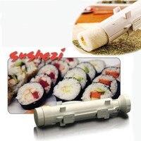 Langlebigkeit Fahrer DIY Roller Sushi Maker Rolle Formenbau Kit Sushi Reis Fleisch Gemüse Gadgets Zubehör  Der Küche Werkzeuge-in Sushi-Utensilien aus Heim und Garten bei