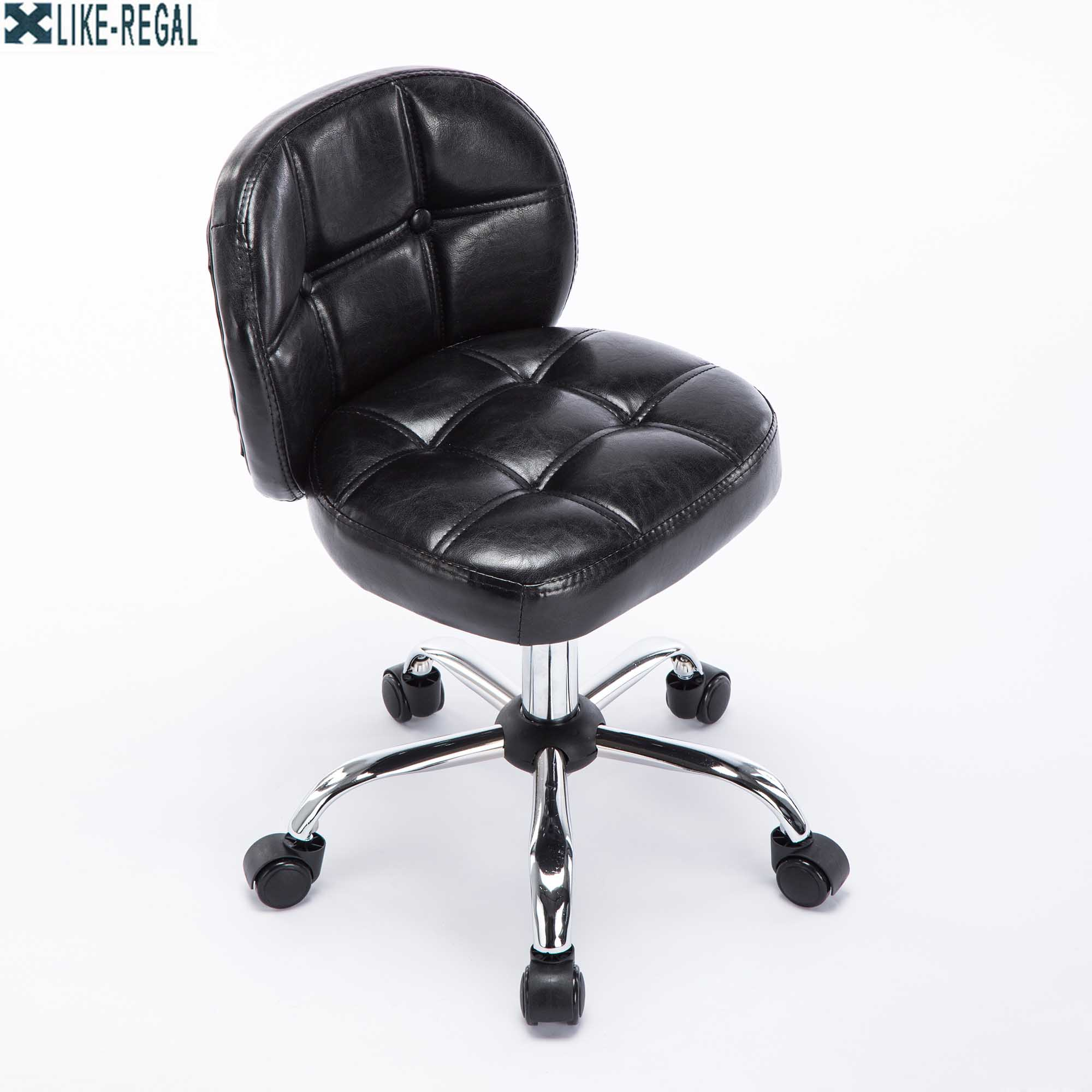 Computer Stool Home Small With Backrest Swivel Chair Bar Chair Stool For Coffee Shop