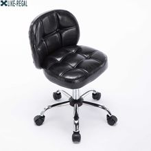 Computer stool home small with backrest swivel chair bar chair stool For coffee shop(China)