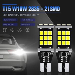 Image 3 - 2x T16 T15 W16W LED Bulbs 2835 SMD 921 912 Car Backup Reverse Lights for Hyundai Santa Fe ix35 ix20 ix55 Matrix Tucson Veloster
