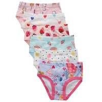 Benetia 6Pcs/lot Fashion Girl Underwear Kids Cotton Baby Clothes Panties Briefs For Children Underpants Toddler 2t 3t 4 5 6 7