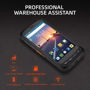 Image 2 - PDA Scanner Handheld Android 8.1 POS Terminal barcode Scanner 2D 4G WiFi Zebra  Bar code Reader 8000mAh Battery Data Collector