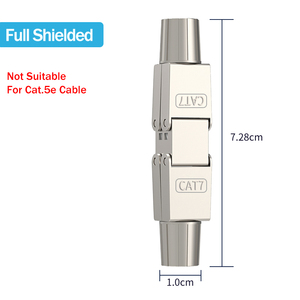 Image 5 - Linkwylan Cat6A Cat7 Kabel Extender Junction Adapter Verbindung Box RJ45 Lan Kabel Verlängerung Stecker Volle Geschirmt Toolless
