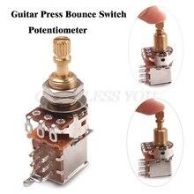 Switch-Knob Potentiometers-Parts Guitars-Control A500K Push Pull B250K