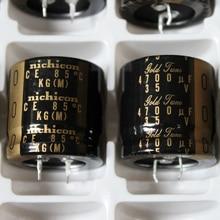 2 adet NICHICON KG tİp II 35V4700UF 30x30mm altın ayar 4700UF 35V ses amplifikatörü filtreleme tip II 4700 UF/35 V tip 2