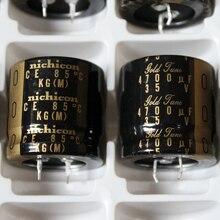 2PCS NICHICON KG Type II 35V4700UF 30x30mm Gold Tune 4700UF 35V audio amplifier filtering TYPEII 4700UF/35V TYPE 2