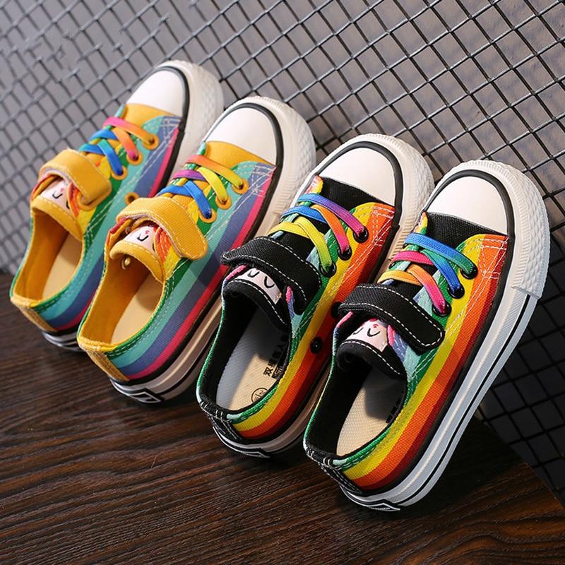 Autumn Children Shoes Boy Sneaker Girl Zapatos Toddler Sport Shoes Kid Canvas Shoe Hook  Tenis Infantil Casual Shoes Chaussure