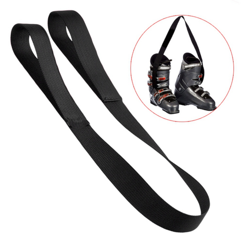 Ski Boots Carrier Strap Snowboard Boot Shoulder Leash Carrying Belt For Ice Skates Skiing Accessories