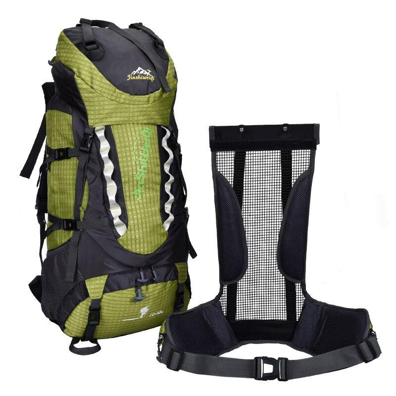 Обработка настраиваемый водонепроницаемый большой емкости уличный для пешего туризма альпинизма спортивный рюкзак путешествия нейлоновы... - 3