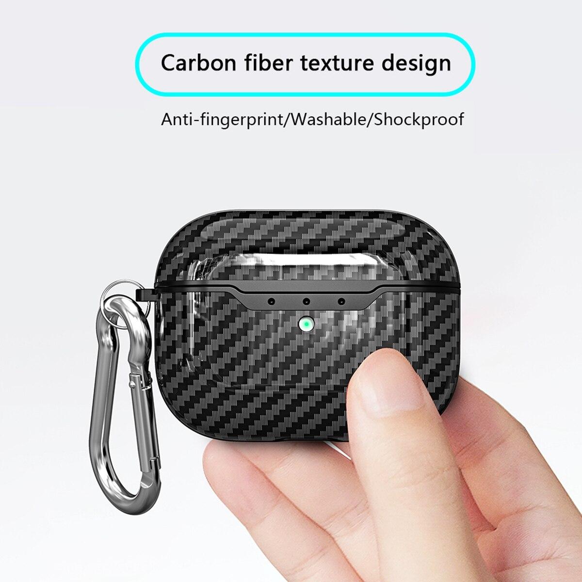 Carbon Fiber Case for AirPods Pro