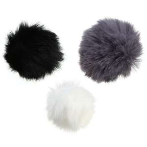 Image 1 - LEORY Lapel Lavalier Microphone Furry Windscreen Windshield Wind Muff Soft Comfortable For Lapel Lavalier Microphones Mic