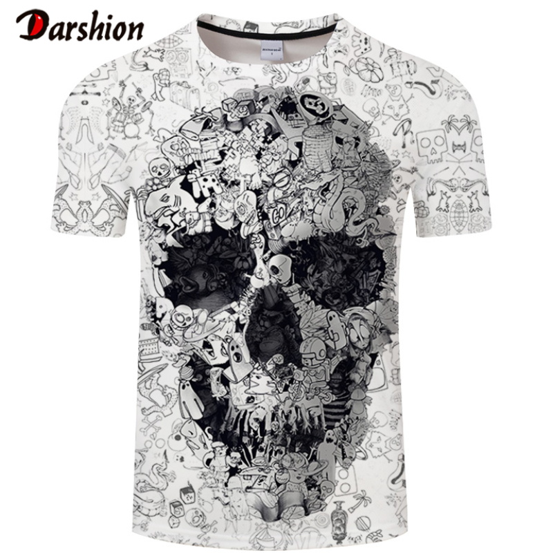 Fashion Comfort Funny Men 3d Fashion Wolf Print Tshirt Casual Short Sleeve O-neck 3D For Men Tees Top High Quality Brand T-shirt