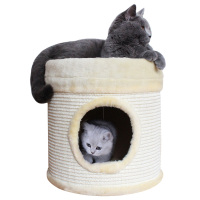 Small cat house cat toy cat scratch export pet products cat rack cat house climbing wear resistant sisal board
