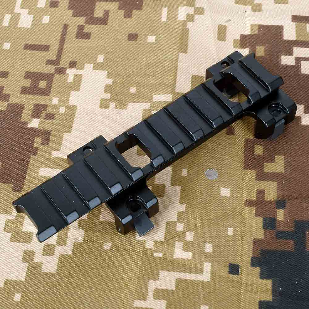 Long 120mm Scope Higher Base Mount 20mm Rail Adapter For MP5 Airsoft Scope Of Hunting Gun Assessories