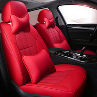 custom cowhide car seat cover leather for 7 Seats Mitsubishi Outlander Pajero Sport Grandis Toyota Sienna LE XLE car styling