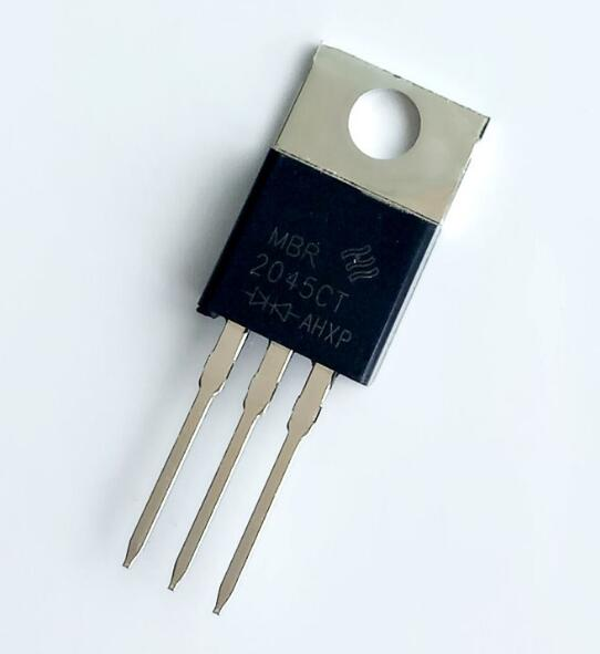 10pcs/lot <font><b>MBR2045CT</b></font> TO-220 20A / 45V Schottky Diode Rectifier image