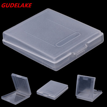 1000PCS Clear Plastic Game Cartridge Case For Game Boy Color For GBC Game Card Dust Cover