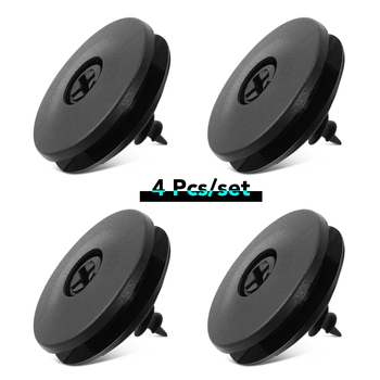 4pcs Car Fastener Floor Mat Clips for Toyota Auris Corolla Avensis Verso Yaris Aygo Scion TC IM image