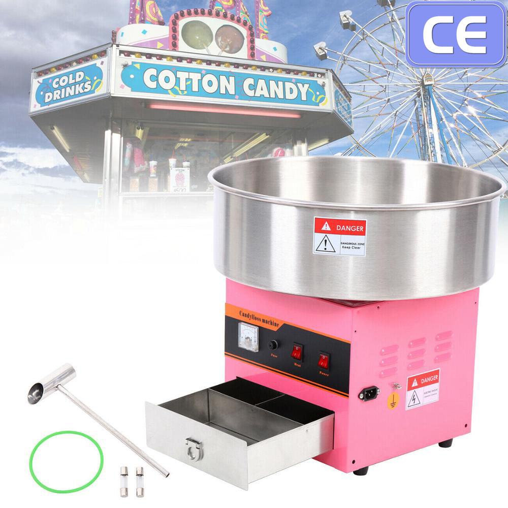 Yonntech Cotton Candy Machine Sugar Fairy Floss Maker Barbe A Papa Candy Floss Commercial Electric Cotton Candy Maker With CE