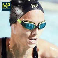 MP Phelps swimming goggles HD anti fog male and female adult children professional competition electroplating swimming glasses