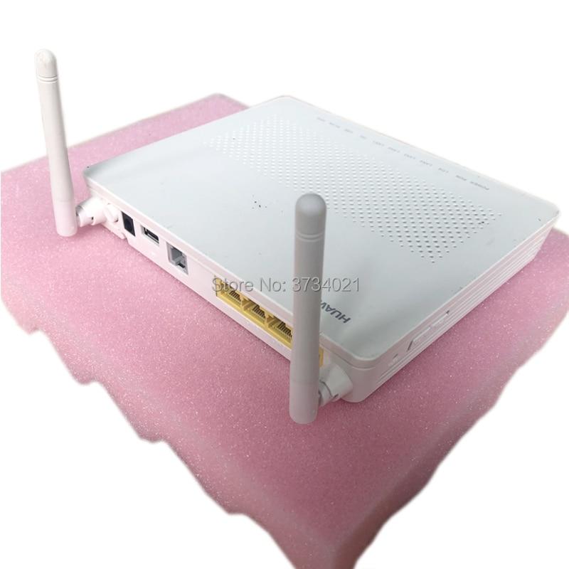 Free Shipping Huawei Gpon Ont Device HG8546M 1GE+3FE+Voice+WIFI+USB 90% New English Version Gpon Terminal Ont