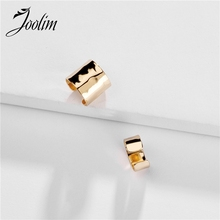 Joolim Jewelry Wholesale 2pca/set Gold Color Cooper Clip On Earring Adjustable
