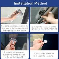 Baseus Car Sunshade Retractable Windshield Car Window Shade Car Front Sun Block Auto Rear Window Foldable Curtain Sunshade