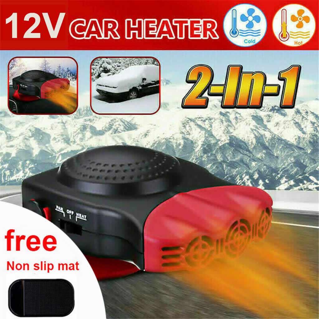 12V 150W Auto Heizung Elektrische Fan Defroster Defog Windschutzscheibe Windows Beheizten Gerät Winter Auto Heizung Fan