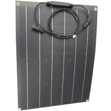 40W ETFE גמיש פנל סולארי Monocrystaline נייד 12v שמש סוללה מטען לשימוש ביתי 80w שמש פנל שווה 2pcs של 40w