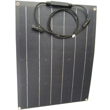 40W ETFE flexible solar panel Monocrystaline solar cell 12v solar battery charger for home use 80w solar panel equal 2pcs of 40w