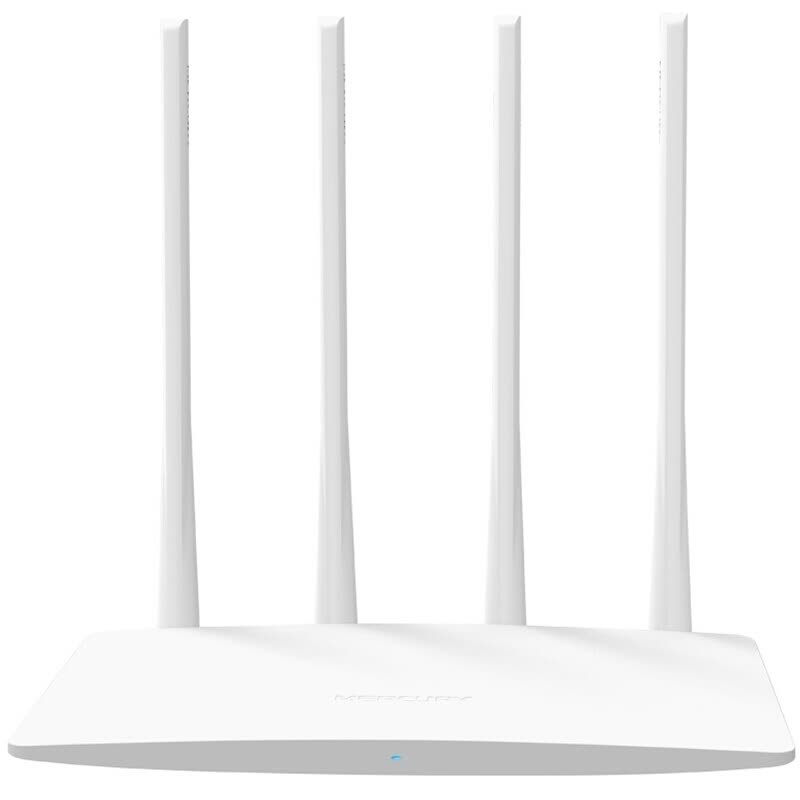 Mercury MW325R Wireless Router Household Wall WiFi Fiber Broadband High-Speed Infinite Oil Spill (Only With Chinese Plug)