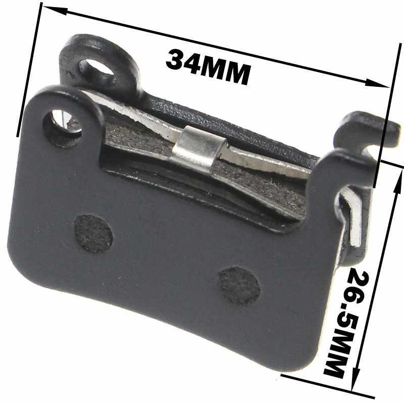 1 paar/2 stuks MTB Mountainbike Remblokken voor Shimano M445 355 395 Fietsonderdelen Fietsen Hars Organische disc Road Remblokken Zoom