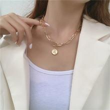 Yangliujia двойной Женская цепочка ожерелье из циркона квадратной