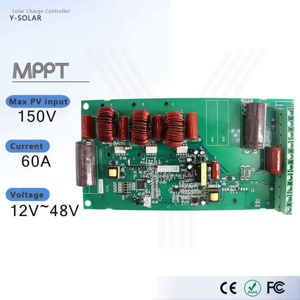 powmr placa de carregamento da bateria de litio carregador solar protecao prancha mppt modulo controlador carga
