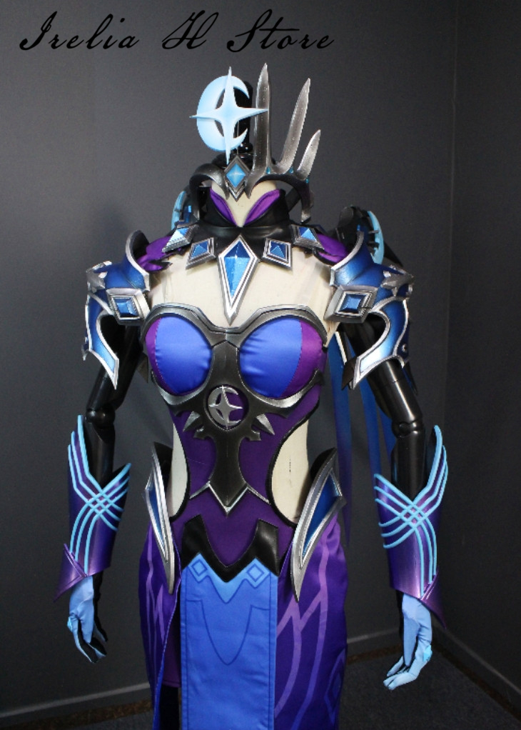 Angela Ziegler Atlantic Division Mercy All-star skin Cosplay Costume private custom made Full set 5