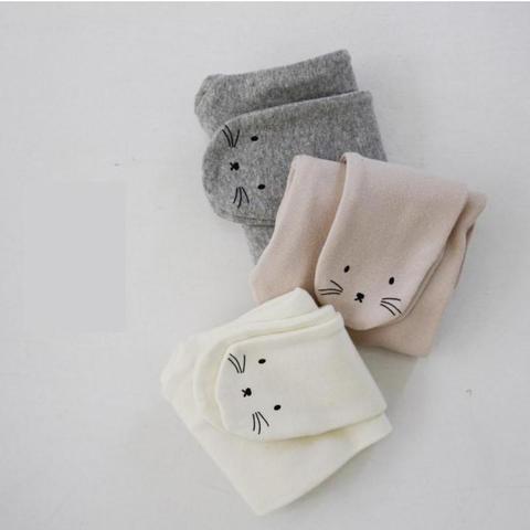 crianca calcas de pe outono inverno algodao