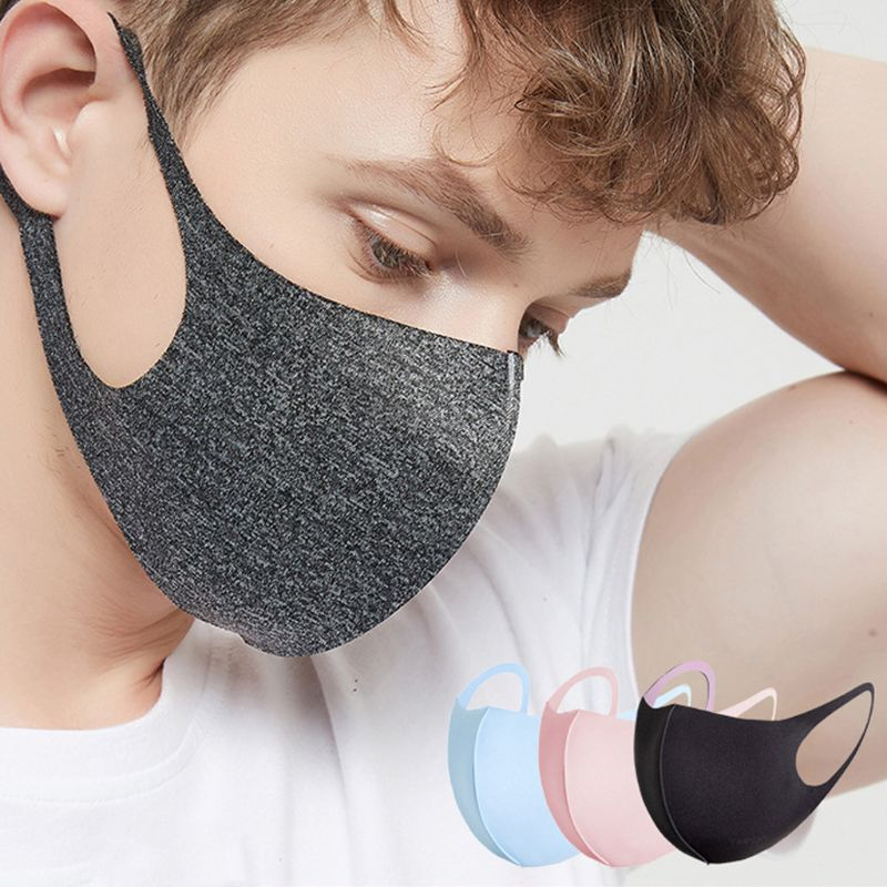 30Pcs Breathable Mouth Face Masks Washable Anti Dust Protective Reusable Cold Prevention Face Mask For Adult Unisex