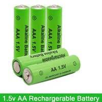 Nueva etiqueta 3000 MAH batería recargable AA 1,5 V. AAA 1,5 V recargable nuevo Alcalinas drummey para diodo emisor de luz de juguete