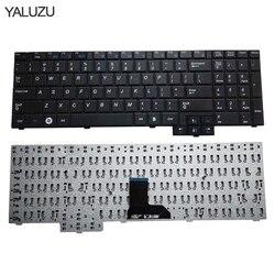 YALUZU angielski klawiatura notebooka dla samsung R620 R528 R530 R540 NP R620 R525 NP R525 R517 R523 RV508 US układ klawiatura laptopa w Zamienne klawiatury od Komputer i biuro na