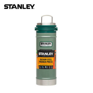 STANLEY Classic Series Outdoor Portable Stainless Steel Spacious Insulated Pressure Filtration Cup Kettle 01855