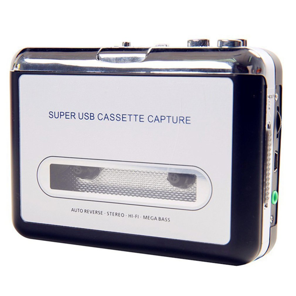 Walkman USB Tape Cassette Player Tape Converter To MP3 Capture Audio Music Player Exquisitely Designed  Cassette Player