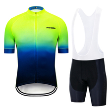 2019 Cycling Clothing Men Cycling Set Bike Clothing Breathable Anti-UV Bicycle Wear/Short Sleeve Cycling Jersey Sets utter armour a2 one piece black and green cycling jersey set anti uv men triathlon suit sleeveless cycling clothing bicycle wear