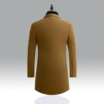 HEFLASHOR 2019 Novos Jaquetas de Inverno Casaco Blusão Homens Outono Inverno Quente Outwear Marca Slim Mens Casacos Casacos Casacos Masculinos 1
