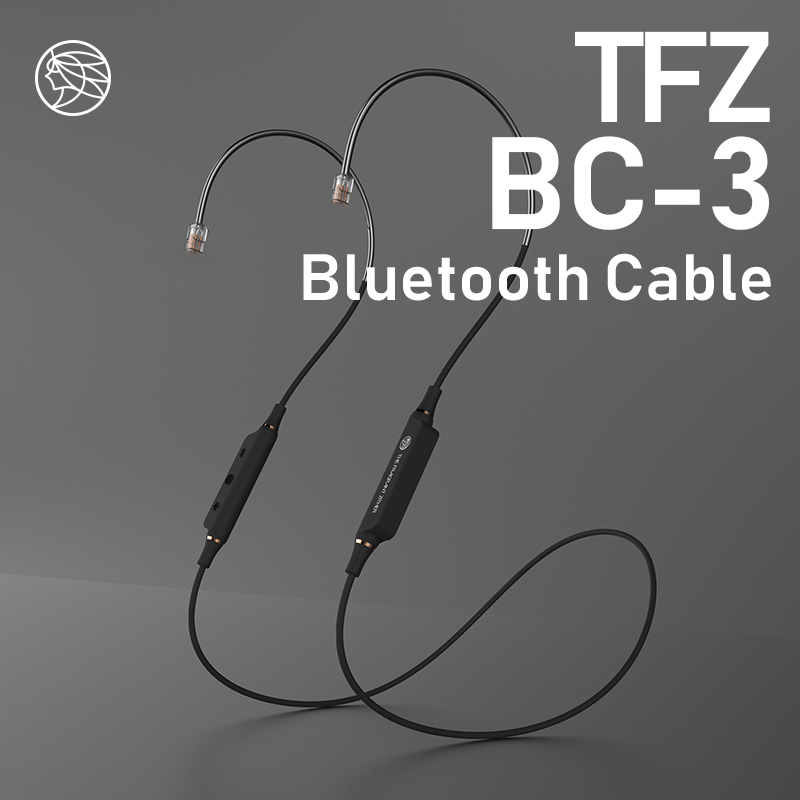 TFZ BC 03 Wireless Bluetooth 5.0 <font><b>Cable</b></font> <font><b>0.78</b></font> mm <font><b>2pin</b></font> Bluetooth Headset Replacement Module <font><b>Cable</b></font> With Mic image