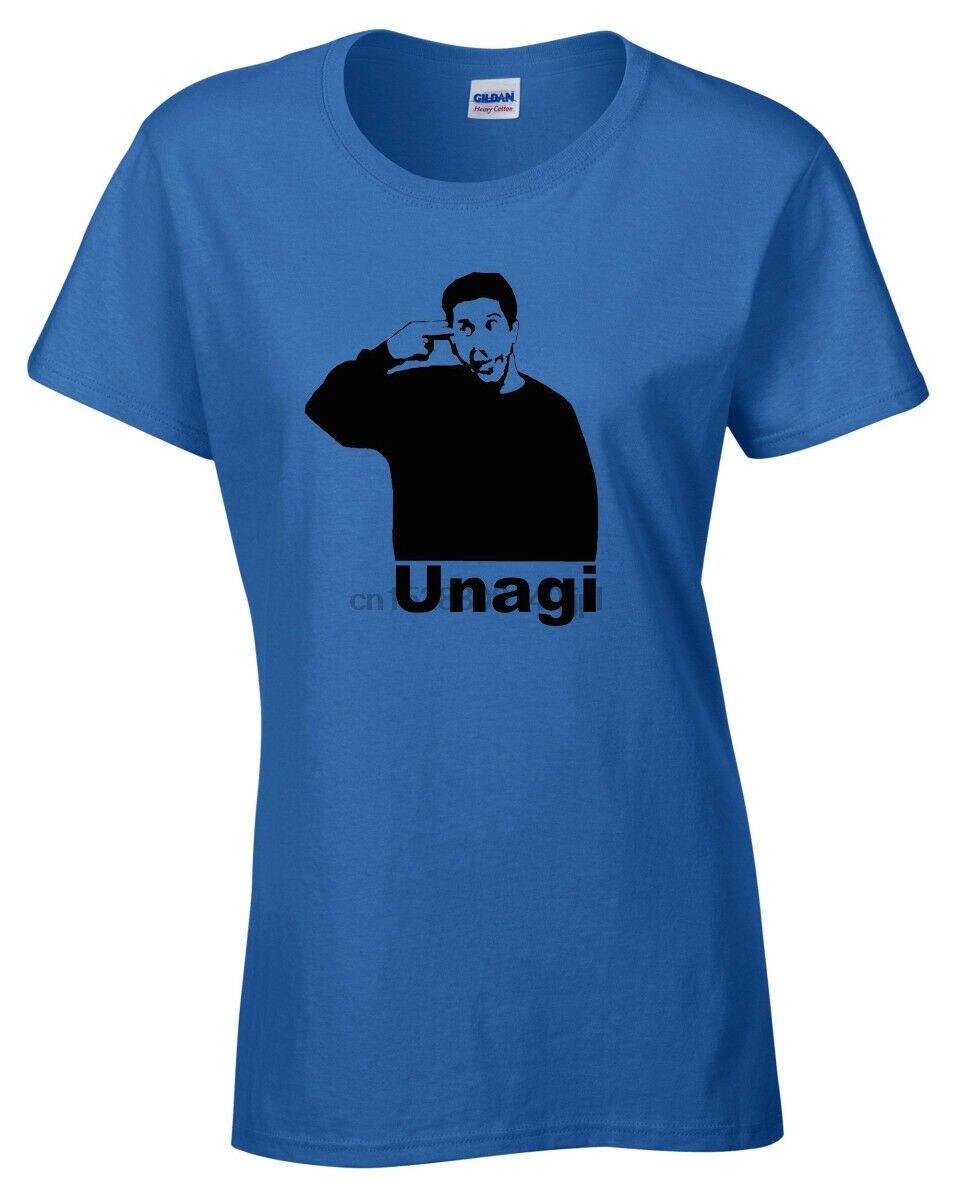 Friends UNAGI T-SHIRT FUNNY Ross top tee joke present gift womens ladies